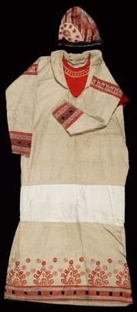 'old man' costume from The Rite of Spring