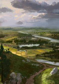 landscape by mingrutu.deviantart.com on @deviantART