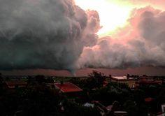 Фобос.Tornadoes in Ladispoli (Lazio, Italy, 06/11/2016)