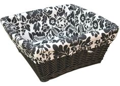 MARIOLA BASKET 40X40CM - Boxes / Baskets - Home Decor - Home.  We use these in our Leksvik change table - fit perfectly, and look cute!