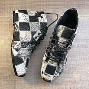 Обувь ручной работы. Ярмарка Мастеров - ручная работа Кеды из питона в наличии. Handmade.
