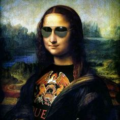 Le Sourire De Mona Lisa, La Madone, Mona Lisa Parody, Mona Lisa Smile, Rock Poster, Music Wallpaper, Jolie Photo, Many Faces, Horror Art