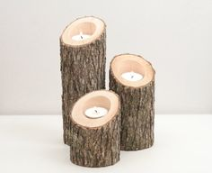 Would be neat if you can carve couples date and initials and use as center pieces