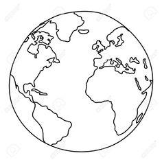 World map globe sketch vector sketch lean pinterest map globe 17422543 world drawing stock photo globe world white gumiabroncs Choice Image