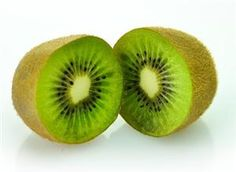 Kiwi fruit is exceptionally high in vitamin C, in fact it contains even more vitamin C than an orange. Kiwi fruit also contains high amounts of vitamins E, A, & K as well as flavonoids, antioxidants, and minerals such as magnesium, potassium, and iron. Kiwi is particularly beneficial for the respiratory system and has been shown to help shorten the duration of colds as well as to help prevent asthma, wheezing, and coughing.