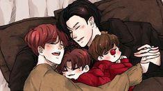 Baekhyun için yalnız bir baba olan Chanyeol en uygun kişiydi.  Ama on… #fanfiction #Fanfiction #amreading #books #wattpad Baekhyun Fanart, Chanbaek Fanart, Exo Chanbaek, Chanyeol, Exo Fan Art, Cute Gay Couples, Best Fan, Anime Art, Life