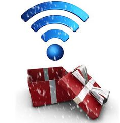 On the 8th day of Christmas my true love sent to me 8 Wifi Hotspots!