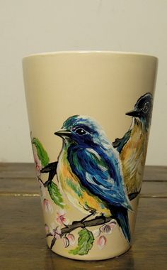 Blue birds will spell the spring, guaranteed!