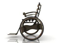 AQ Medicare: Cool Looking Wheelchair Industrial Design