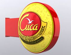 """Check out new work on my @Behance portfolio: """"Placa Luminosa Cerveja Cuca - Angola"""" http://be.net/gallery/51698481/Placa-Luminosa-Cerveja-Cuca-Angola"""