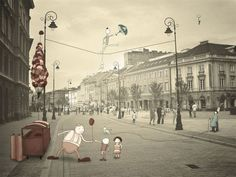 Illustrations on Photography by Johan Thörnqvist