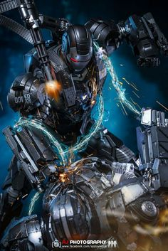 War machine Marvel Comics, Marvel Comic Universe, Comics Universe, Marvel Dc, Mysterio Marvel, Ironman, Geek Things, Robot Concept Art, King Art
