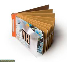 Бумажные портфолио: 5 примеров для вдохновения