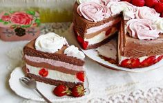 Cake Recipes, Dessert Recipes, Food Cakes, Homemade Cakes, Something Sweet, Cheesecakes, Vanilla Cake, Deserts, Food And Drink