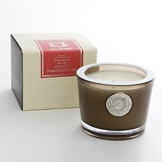 Aquiesse Pomegranate Sage Small Soy Candle - Lead-free wick. Sale $17.99.