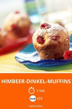 Himbeer-Dinkel-Muffins - smarter - Kalorien: 273 kcal - Zeit: 1 Std. | eatsmarter.de