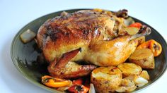 """I have used this recipe and love the roasted chicken.  """"How to Cook a Whole Chicken in the Oven -- via wikiHow.com"""""""