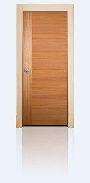 MIDRANGE flush interior door for modern design. - modern - interior doors - Lynden Door - African mahogany - StileLine