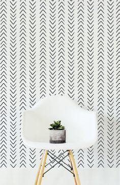 Self adhesive wallpaper with Scandinavian style design
