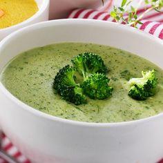 Loaded Broccoli and Cheese Soup Raw Vegan Recipes, Veggie Recipes, Soup Recipes, Vegetarian Recipes, Cooking Recipes, Healthy Recipes, Recipies, Soup Kitchen, Food Hacks