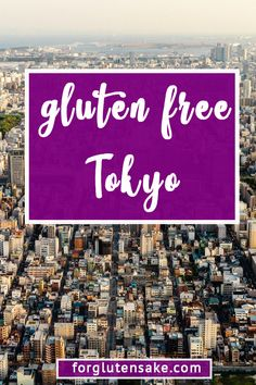 Want to find the best gluten free in Tokyo? Many fear traveling to Tokyo as a gluten free traveler, but I'm here to ease your angst. After spending a week in Tokyo, I have a the guide for you. Sin Gluten, Gluten Free Diet, Gluten Free Recipes, Dairy Free, Tokyo Japan Travel, Japan Trip, Kyoto Japan, Tokyo Guide, Gluten Free Restaurants