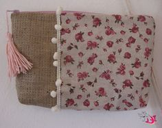 ΦούΞια ΞιΦίας Beauty Case, Burlap, Reusable Tote Bags, Hessian Fabric, Jute, Canvas