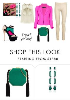 """""""The girls and I......."""" by maggiebell53 ❤ liked on Polyvore featuring Kate Spade, Alessandra Rich and Fabio Salini"""