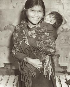 A Hopi woman with baby. New York World's Fair. 1939-1940. — with Mary Jackson.