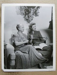 Greer Garson (39) with her mother, Nina Garson. (1943)