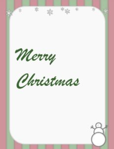 Christmas Card Templates Word Thank You Card Template  Template  Pinterest  Card Templates And .