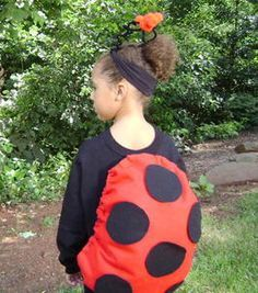 No-Sew Lucky Ladybug Costume : Decorating : Home & Garden Television