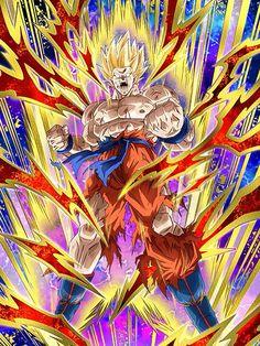 "[Zealous Roar] Super Saiyan Goku ""Are you talking about Krillin?!!!!!"""