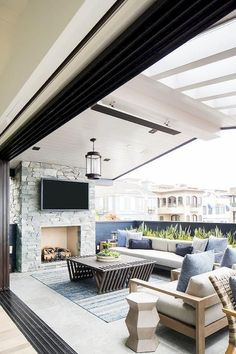 Sliding Door Room Dividers and Patio Doors Sliding doors have many functions when it comes to patio areas. Besides allowing natural light in, they also have the following advantages  #devider #interiordesign #outdoo #patio