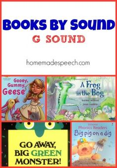 Articulation Therapy, Articulation Activities, Speech Therapy Activities, Language Activities, Book Activities, Phonics, Speech Language Pathology, Speech And Language, G Sound