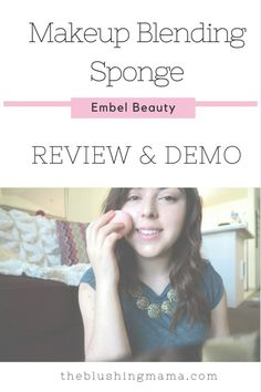 I am so excited to share with you guys this awesome find, the Embel Beauty makeup sponge. You guys know I am all about the natural makeup look and usually only stick to BB Creams, but sometimes a girl needs more coverage (a.k.a. foundation) and doesn't want to look cakey, am I right? In comes Embel's Beauty make up sponge! Can I just tell you that I loved it? I'll tell you the reasons why, but first I'd like to tell you a little bit about the company and woman behind it.
