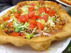 Tacos and Indian Fry Bread ~ Recipe of today