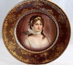 Royal Vienna Porcelain (Austria) — Portrait Plate 'Queen Louise of Prussia'  (750x675)