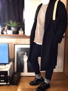 ✔️RAGEBLUE ✕ HARE コーデ ✔️おNEWアイテムが多め👈 └🆕コート_トップス_