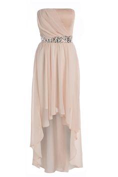 Jewelled Drop Back Chiffon Dress - AX Paris