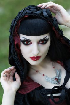 Obsidian Kerttu Vampire Editorial with Sinister &Nocturne Jewellery for Gothic and Amazing 3rd Magazine issue (photos: John Wolfrik) … Make sure to get your digital or printed version...
