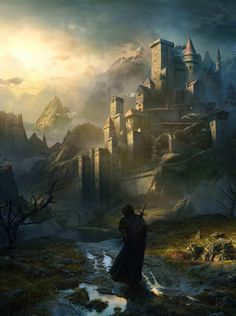 "fantasyartwatch: ""The Pilgrim by Karpin """
