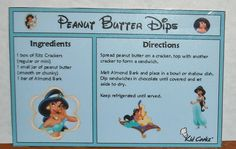 Disney Princess recipe cards with kid-friendly recipes. These would make a great gift!