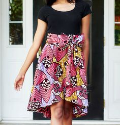 african print high low skirts - Recherche Google