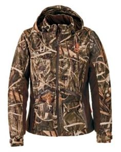 Buy the SHE Outdoor Waterfowl Camo Jacket for Ladies and more quality Fishing, Hunting and Outdoor gear at Bass Pro Shops. Camo Shoes, Camo Pants, Camo Jacket, Camo Gear, Camo Dress, Hunting Camo, Hunting Girls, Hunting Stuff, Women Hunting