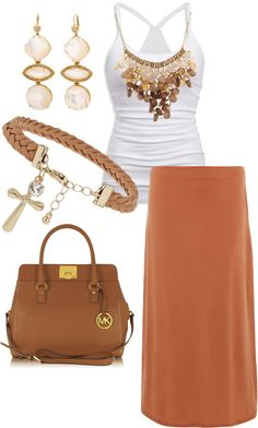 A fashion look from March 2013 featuring American Eagle Outfitters tops, Dorothy Perkins skirts and Michael Kors handbags. Browse and shop related looks. Summer Outfits, Casual Outfits, Cute Outfits, Fashion Outfits, Womens Fashion, Fashion Trends, Latest Fashion, I Love Fashion, Passion For Fashion