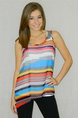 Lots of Stripes Tank