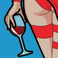 The Secret Life of Heroes. Pop Art Illustrations by G. Guillemin