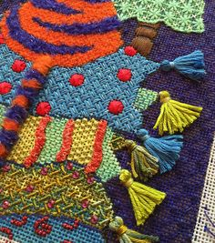 It's not your Grandmother's Needlepoint: The plan came together