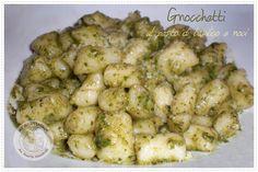 My Ricettarium: Gnocchetti al pesto di basilico e noci