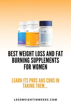 Best weight loss supplements for women fat burning. Comparison of 2 of best fat burning supplements for women. These diet pills helps you improve your mood, control hunger, avoid the production of new fat, and more. Which is the best? Only one is the most effective... #bestsupplementsforwomenfatburning #bestweightlosssupplementsforwomenfatburning #bestfatburningsupplementsforwomen Fat Burner Supplements, Weight Loss Supplements, Belly Fat Burner, Best Weight Loss Supplement, Supplements For Women, Quick Weight Loss Tips, Lose Weight In A Month, Natural Detox, Weights For Women